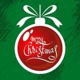 Vrolijke Kerstmis-09 Royalty-vrije Stock Afbeelding