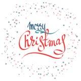 Vrolijke Kerstmis-05 Stock Afbeelding