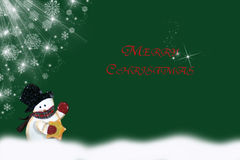 Vrolijke Kerstmis Royalty-vrije Stock Afbeelding