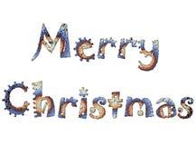 Vrolijke Kerstmis 11 stock illustratie