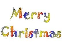 Vrolijke Kerstmis 13 vector illustratie
