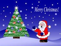 Vrolijke Kerstmis! Royalty-vrije Stock Foto