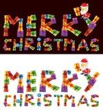 Vrolijke Kerstmis Royalty-vrije Stock Afbeeldingen