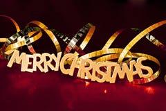 Vrolijke Kerstmis. Royalty-vrije Stock Afbeelding
