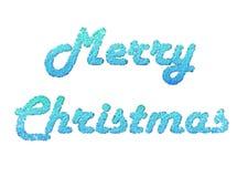 Vrolijke Kerstmis 2 stock illustratie