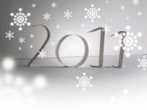 Vrolijke Kerstmis 2011 Royalty-vrije Stock Afbeelding