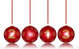 Vrolijke Kerstmis 2013 Royalty-vrije Stock Foto's