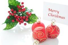 Vrolijke Kerstmis Stock Fotografie