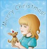 Vrolijke Kerstmis! Royalty-vrije Stock Foto's