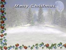 Vrolijke Kerstmis. Royalty-vrije Stock Foto's