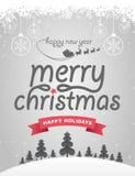 Vrolijke Kerstmis vector illustratie