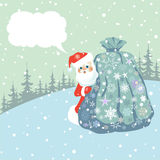 Vrolijke Kerstmis! Royalty-vrije Stock Afbeeldingen