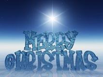 Vrolijke Kerstmis! Stock Fotografie