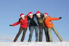 Vrolijke Kerstmis! Royalty-vrije Stock Fotografie