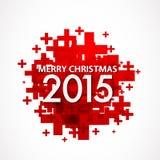 Vrolijke Kerstmis 2015 Royalty-vrije Stock Foto