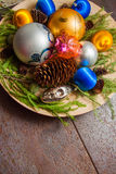 2016 Vrolijke Kerstmis Royalty-vrije Stock Afbeelding
