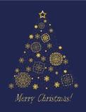 Vrolijke Kerstmis Stock Afbeeldingen