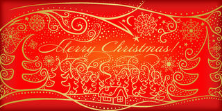 Vrolijke Kerstmis! stock illustratie