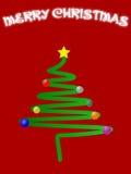 Vrolijke Kerstmis royalty-vrije illustratie