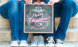Vrolijke Kerstmis Royalty-vrije Stock Fotografie