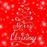 Vrolijke Kerstmis 3 Royalty-vrije Stock Afbeelding