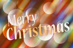 Vrolijke Kerstmis - de kaart van de Groet Royalty-vrije Stock Foto's