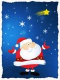 Vrolijke Kerstmis de Kerstman Royalty-vrije Stock Fotografie