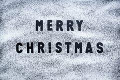 Vrolijke Kerstmis - de Zwarte Achtergrond van de Leitextuur - Steen - Grung Royalty-vrije Stock Foto's
