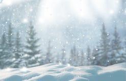 Vrolijke Kerstmis en de gelukkige achtergrond van de Nieuwjaargroet met exemplaar stock afbeeldingen