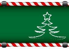 Vrolijke Kerstmis en een Gelukkig Nieuwjaar Royalty-vrije Stock Fotografie