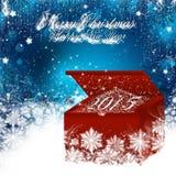 Vrolijke Kerstmis en een Gelukkig Nieuwjaar 2015 Stock Fotografie