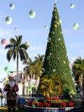 Vrolijke Kerstmis en een Gelukkig Nieuwjaar Stock Foto