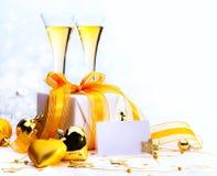 Vrolijke Kerstmis en gelukkig nieuw jaar Royalty-vrije Stock Foto's