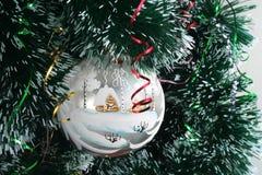 Vrolijke Kerstmis en Gelukkig Nieuwjaar! stock foto