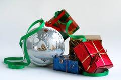 Vrolijke Kerstmis en Gelukkig Nieuwjaar! royalty-vrije stock fotografie