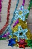 Vrolijke Kerstmis en Gelukkig Nieuwjaar Royalty-vrije Stock Afbeelding