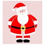 Vrolijke Kerstmis en Gelukkig Nieuwjaar van Santa Claus Royalty-vrije Stock Foto's