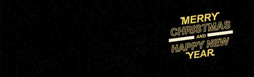 2019 Vrolijke Kerstmis en Gelukkig Nieuwjaar voor uw seizoengebonden pamfletten en groetkaarten of Kerstmis als thema gehade uitn Stock Foto