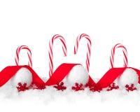 Vrolijke Kerstmis en gelukkige nieuwe jaarkaart Stock Afbeelding