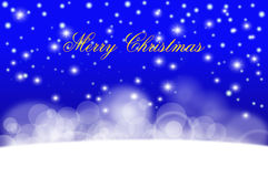 Vrolijke Kerstmis en Gelukkige Nieuwjaarachtergrond Stock Foto's