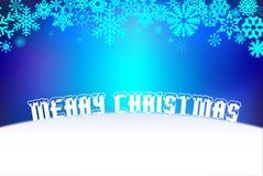 Vrolijke Kerstmis en Gelukkige Nieuwjaarachtergrond Royalty-vrije Stock Afbeelding