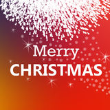 Vrolijke Kerstmis en nieuw jaar Stock Fotografie