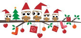 Vrolijke Kerstmis gelukkige vakantie Royalty-vrije Stock Foto