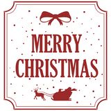 Vrolijke Kerstmis Kerstmiskalligrafie Het met de hand geschreven moderne borstel van letters voorzien Hand getrokken ontwerpeleme royalty-vrije illustratie