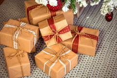Vrolijke Kerstmis, nieuw jaar Stock Foto's