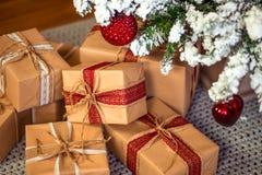 Vrolijke Kerstmis, nieuw jaar Royalty-vrije Stock Fotografie