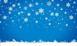 Vrolijke Kerstmis, uitnodiging, prentbriefkaar, achtergrond, de winter, decoratie Stock Foto