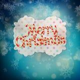Vrolijke Kerstmis van de Candyswereld Eps 10 Stock Foto