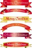 Vrolijke Kerstmis van de krantekop Royalty-vrije Stock Fotografie