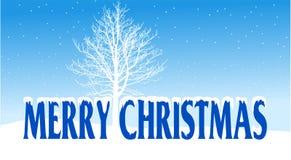 Vrolijke Kerstmisachtergrond Stock Foto's